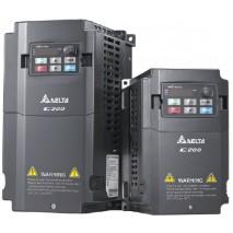 Frekvenční měnič C200, VFD015CB21A-21, 1,5kW, 230V, 8A, 1fáze, IP20