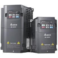 Frekvenční měnič C200, VFD015CB43A-21, 1,5kW, 460V, 4A, 3fáze, IP20
