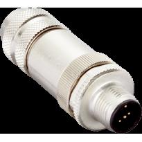 Konektor STE-1205-GA, M12, 5pin, přímý, samec