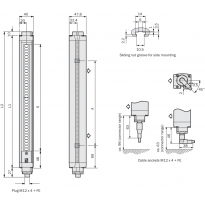 Bezpečnostní světelný závěs C4000 Eco, C40E-1001AN310, C40S-1001AA310