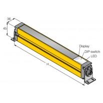 Světelný závěs pro ochranu osob SLSE14-300Q8, SLSR14-300Q8