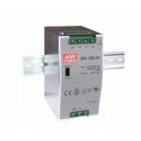 Napájecí zdroj DR-120-24, 24V, 120W, 1-fáze, na DIN lištu