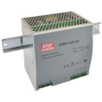 Napájecí zdroj DRP-240-24, 24V, 240W, 1-fáze, na DIN lištu