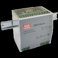 Napájecí zdroj DRP-240-48, 48V, 240W, 1-fáze, na DIN lištu