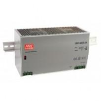 Napájecí zdroj DRP-480S-24, 24V, 480W, 1-fáze, na DIN lištu