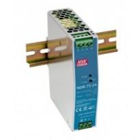 Napájecí zdroj NDR-75-12, 12V, 75,6W, 1-fáze, na DIN lištu