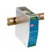 Napájecí zdroj NDR-120-24, 24V, 120W, 1-fáze, na DIN lištu