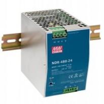 Napájecí zdroj NDR-480-24, 24V, 480W, 1-fáze, na DIN lištu