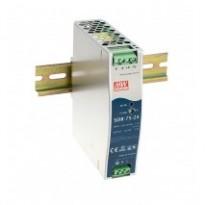Napájecí zdroj SDR-75-12, 12V, 75,6W, 1-fáze, na DIN lištu