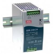 Napájecí zdroj SDR-240-24, 24V, 240W, 1-fáze, na DIN lištu