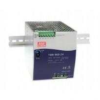 Napájecí zdroj TDR-960-24, 24V, 960W, 3-fáze, na DIN lištu