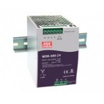 Napájecí zdroj WDR-480-24, 24V, 480W, 1/2-fáze, na DIN lištu
