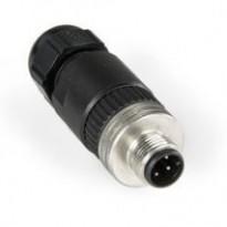 Konektor 8A5006325, M12, 5pin, přímý, samec, šroubovací, PG9