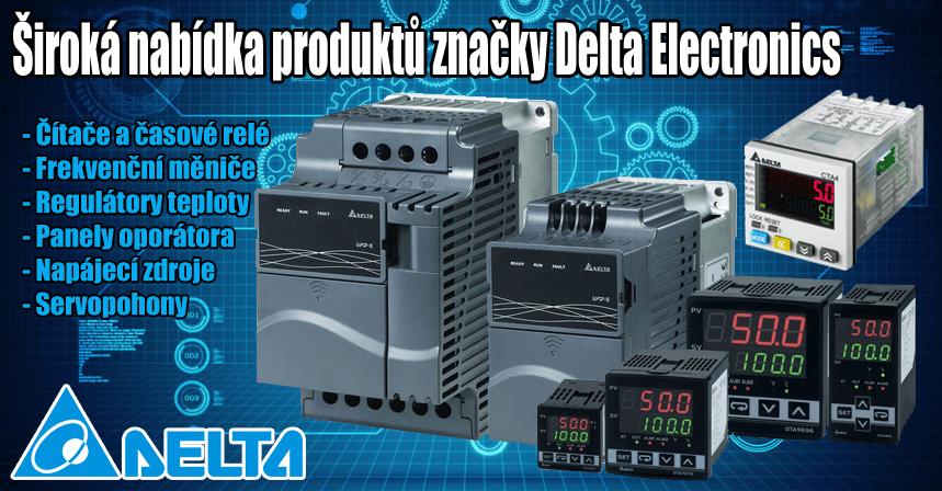 Široká nabídka produktů Delta Elektronics