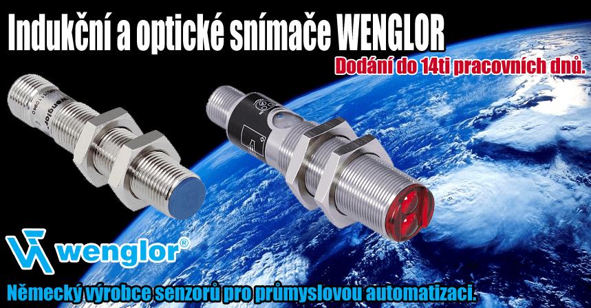 Indukční a optické snímače WENGLOR